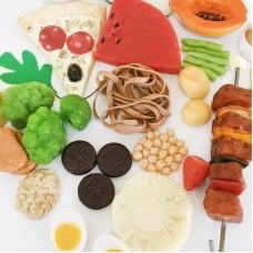 Kit Réplica de Alimentos Luxo
